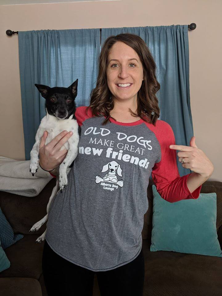 How Albert the Dog Inspired a Shirt & the Lives of Two People