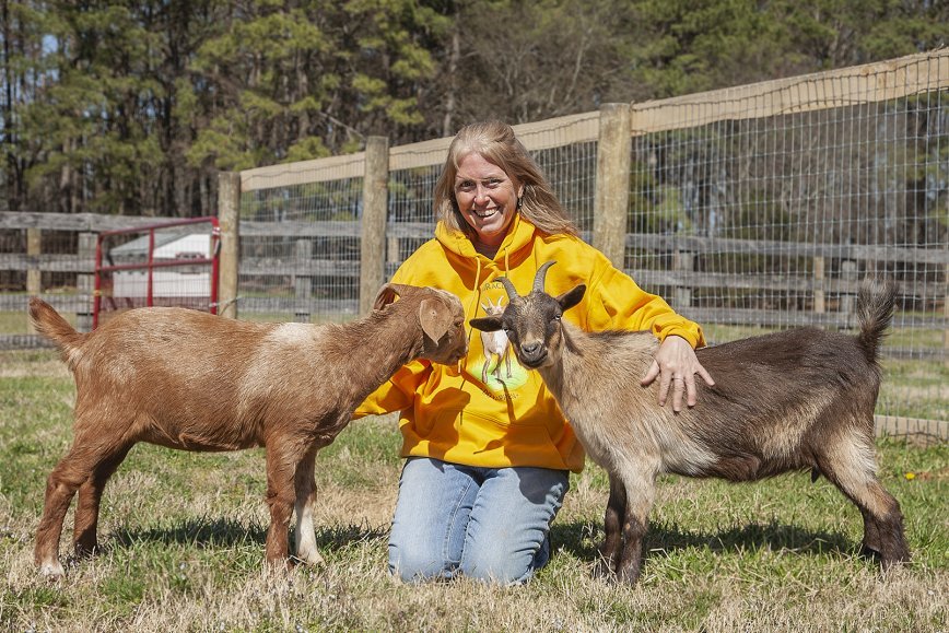 A Rescue Goat Finds Her Voice